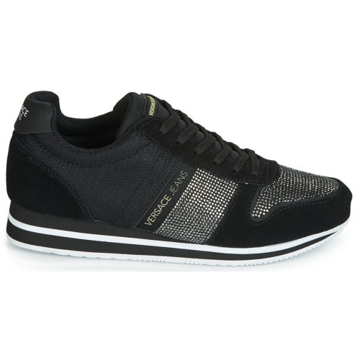 Versace Jeans EOVTBSA1 women's Shoes (Trainers) in Black