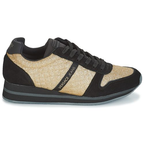 Versace Jeans ISABELA women's Shoes (Trainers) in Gold