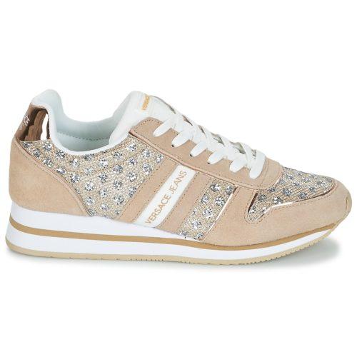 Versace Jeans STELLA VRBSA1 women's Shoes (Trainers) in Beige