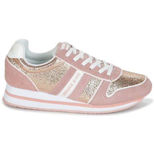 Versace Jeans STELLA VRBSA1 women's Shoes (Trainers) in Pink