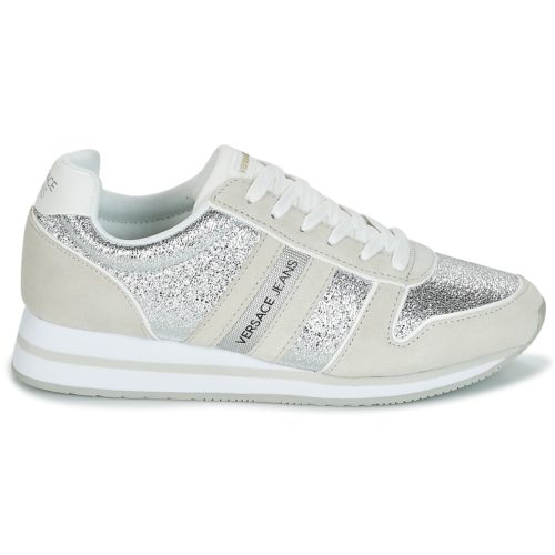 Versace Jeans STELLA VRBSA1 women's Shoes (Trainers) in Silver