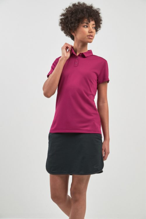 "Womens Nike Dri-FIT 17"" Golf Skirt - Black"