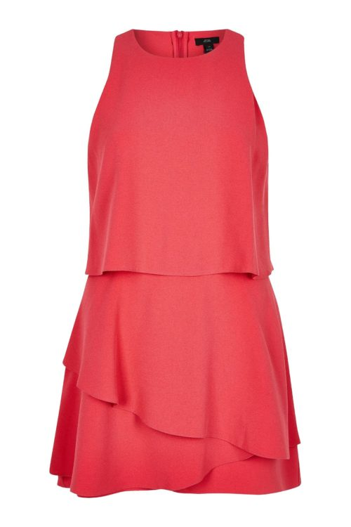 Womens River Island Tyla Playsuit - Pink