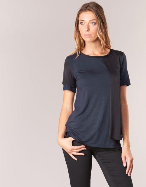 Armani jeans DRANIZ women's T shirt in Blue. Sizes available:UK 8,UK 10,UK 12,UK 14