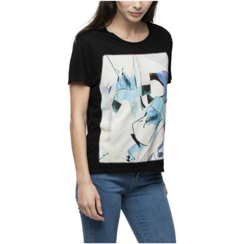 Dioxide T-Shirt women's T shirt in Black. Sizes available:EU S,EU M,EU L