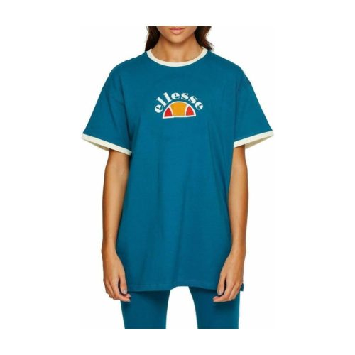 Ellesse Rosabella tee Shirt Camiseta, women's T shirt in Blue. Sizes available:US 6,US 8,US 10,US 12