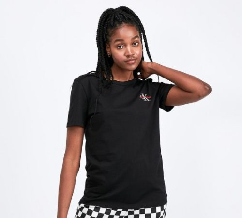 Womens Mono Embroidered T-Shirt