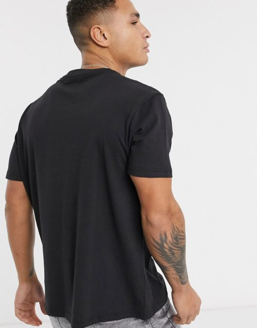 Another Influence boxy t-shirt-Black