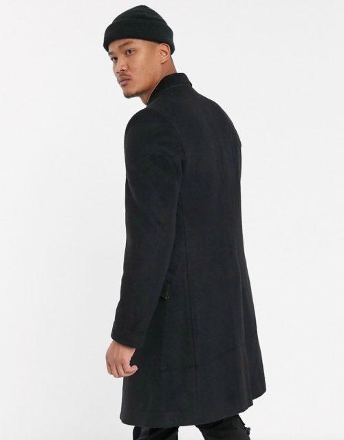 Bolongaro Trevor pea coat-Black