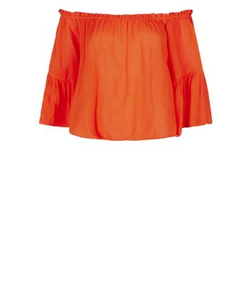 Brave Soul Red Bardot Blouse New Look