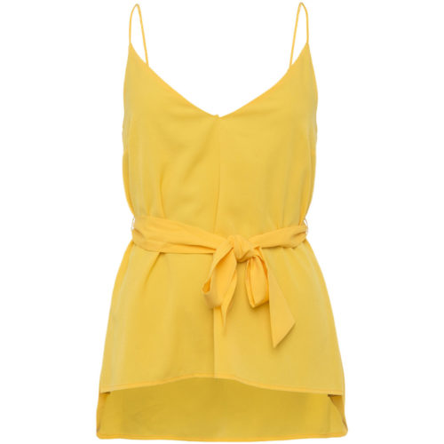 French Connection Flowing camper women's Blouse in Yellow. Sizes available:EU L