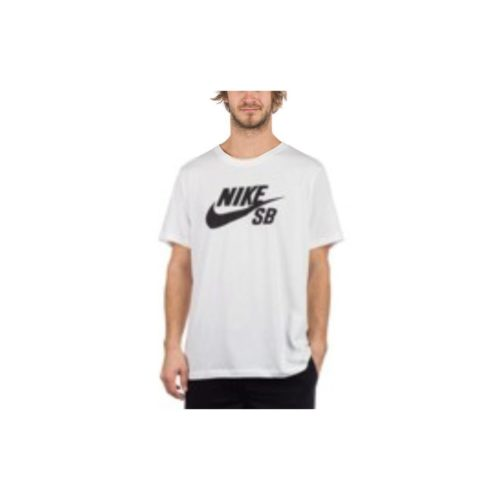 Nike M NK SB Dry tee DFCT Logo T-Shirt men's T shirt in White. Sizes available:UK M,UK L