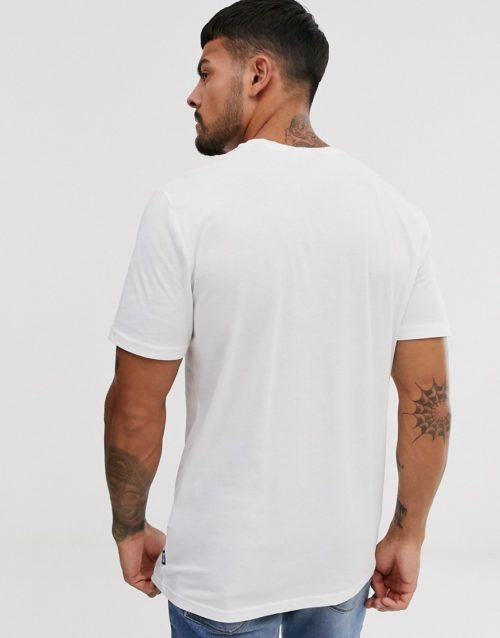 Only & Sons logo print t-shirt-White