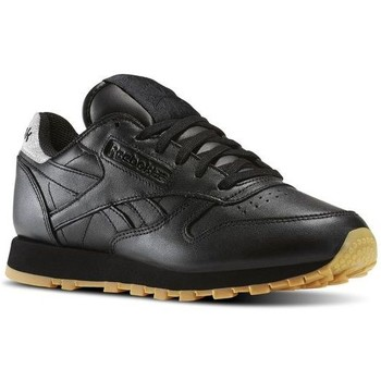 Reebok Sport CLASSIC LEATHER DIAMOND women's Shoes (Trainers) in Black. Sizes available:3.5