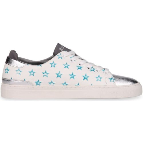Replay Market women's Shoes (Trainers) in White