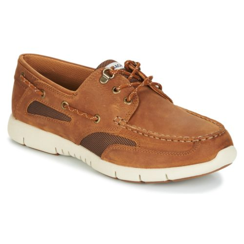 Sebago CLOVENHITCH LITE men's Boat Shoes in Brown