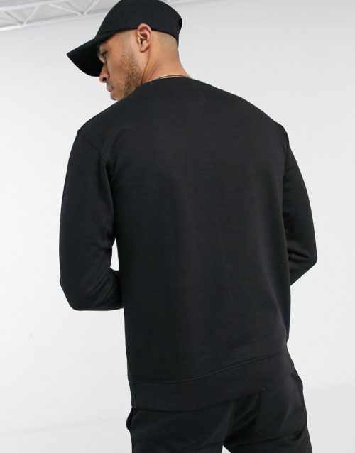 Soul Star mix and match sweatshirt in black