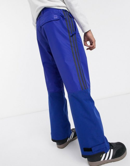 Adidas Snowboarding Riding Pant in blue