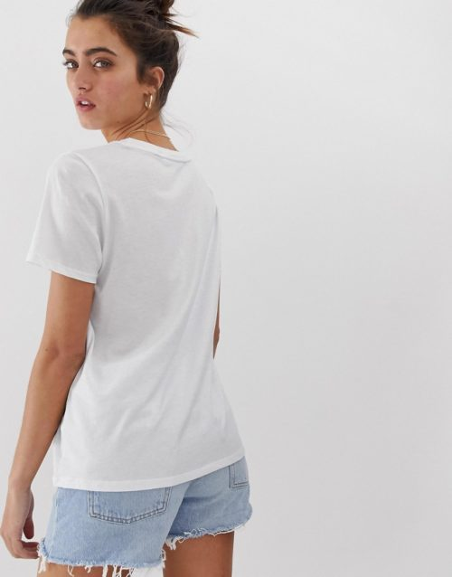 Only photographic t-shirt-White
