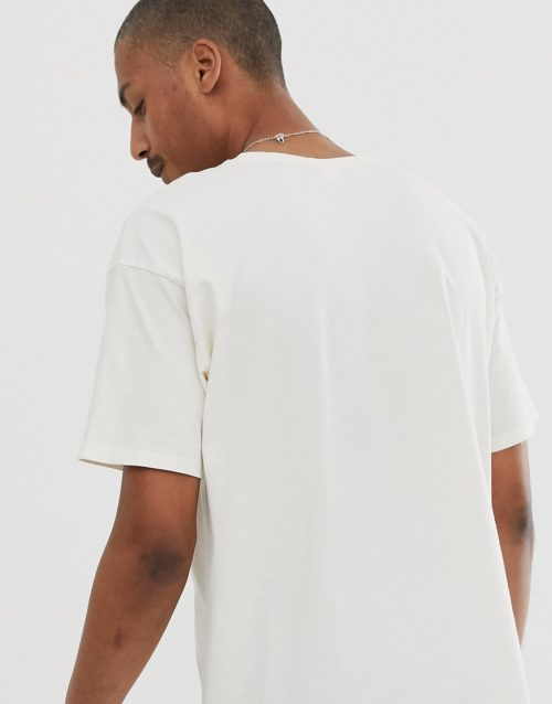 CRL By Corella t-shirt with graphic print in off white