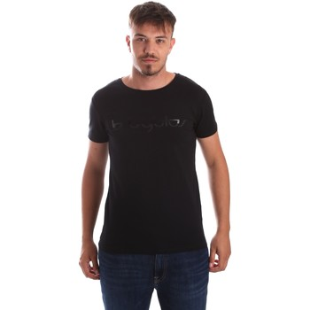 Byblos Blu 2MT0023 TE0048 men's T shirt in Black
