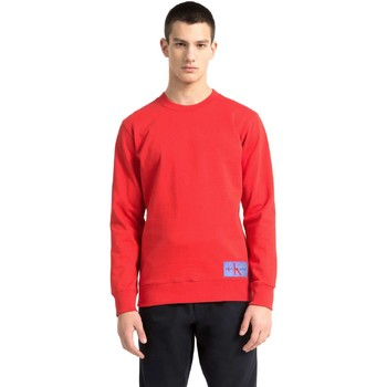 Calvin Klein Jeans J30J307743 men's Sweatshirt in Red