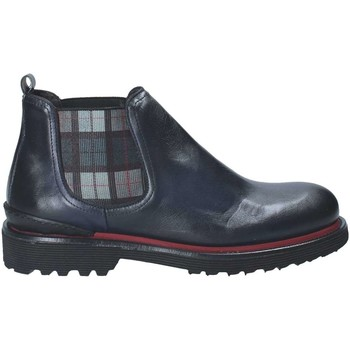 Exton 944 men's Mid Boots in Blue