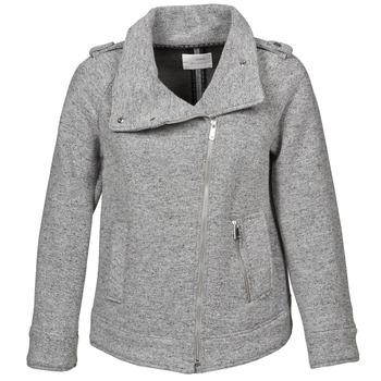 Gas CRISSY women's Coat in Grey