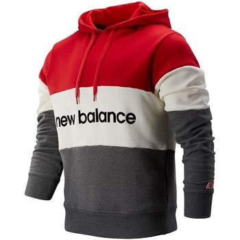 New Balance NBMT93545REP men's Sweatshirt in Red