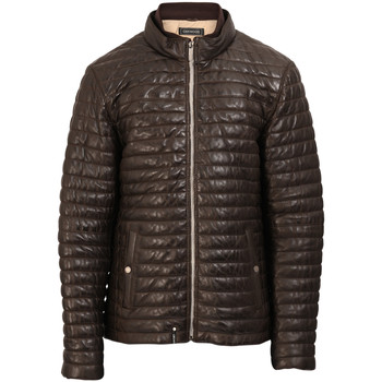 Oakwood GANG Leather Jacket men's Jacket in Brown