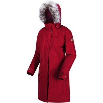 Regatta Lumexia II Waterproof Insulated Parka Jacket Red women's Coat in Red