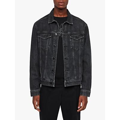 AllSaints Beamer Denim Jacket, Black