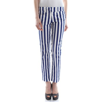Dondup MYAY ES029D 002 PDD women's Trousers in Blue. Sizes available:UK 10