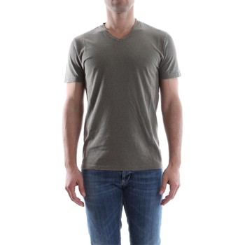 Wool co WO 6310 SCOLLO V men's T shirt in Grey. Sizes available:UK M,UK L,UK XL