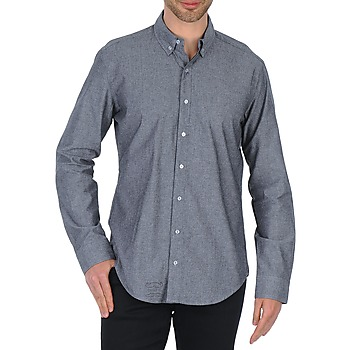 American Apparel RSACP401S men's Long sleeved Shirt in Grey. Sizes available:S,XS