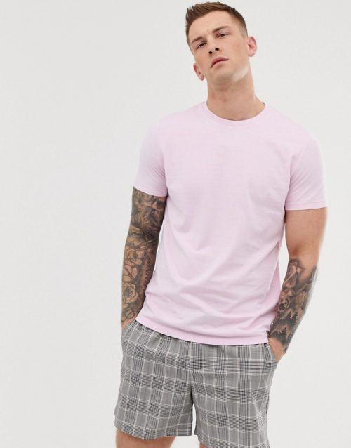 Brave Soul organic cotton t-shirt in pink