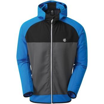 Dare 2b Aptile Hooded Softshell Jacket Blue men's Coat in Blue