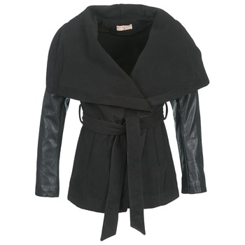 Moony Mood DUMOUT women's Coat in Black. Sizes available:S,M