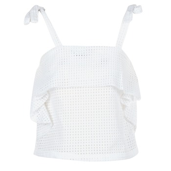 Moony Mood GEMA women's Blouse in White. Sizes available:S,M,L