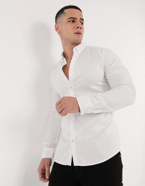 Tom Tailor oxford shirt in white